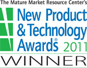 The Mature Market Resource Centers New Product and Technology Awards 2010 Winner